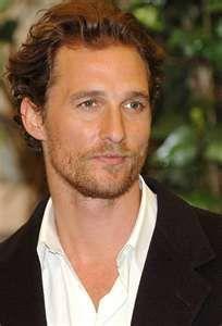Matthew McConaughy... a good old southern boy