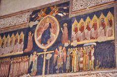 Turone di Maxio da Camnago - The Judgement - (mq. 34,35!!) Santa Anastasia, Turon, Zen, File, Italy, Painting, Beautiful, Fine Art, Painting Art
