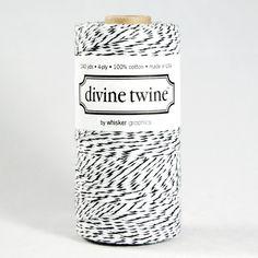 Divine Twine - Black Licorice - Fine & Dandy Party Shop