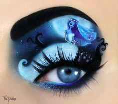 des maquillages de paupières pour Halloween par Tal Peleg  2Tout2Rien