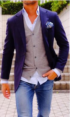 My style ! Love it ! My style ! Love it ! Mens Fashion Blazer, Suit Fashion, Fashion Outfits, Leather Fashion, Boy Fashion, Fashion Boots, Fashion Ideas, Sharp Dressed Man, Well Dressed Men