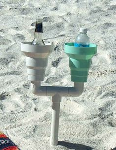 This Sand-Proof Drink Holder | 22 Beach Products You Absolutely Need This Summer