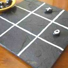 Slate tile ideas- http://crafts.lovetoknow.com/crafts-using-slate-roofing-tiles