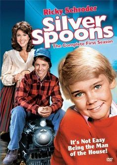 """""""Silver Spoons"""" - Ricky Schroder, Erin Gray and Joel Higgins. 80 Tv Shows, Best Tv Shows, Movies And Tv Shows, Favorite Tv Shows, 1970s Tv Shows, 1980s Tv, Favorite Things, Best Memories, Childhood Memories"""