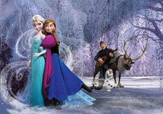 Poster Elsa et Anna