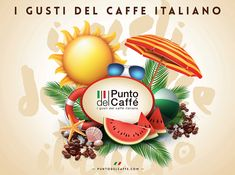 Paper table mat design for Punto Del Caffe 🍉☀️🌴️ Paper Table, Packaging, Design, Wrapping