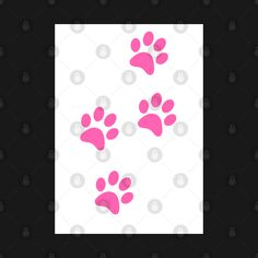 Check out this awesome 'Pink+Paw-prints+on+a+white+surface' design on @TeePublic! Paw Prints, Blue Butterfly, Surface Design, Awesome, Check, Pink, Stuff To Buy, Pink Hair, Roses