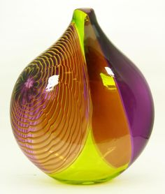 DALE CHIHULY AMERICAN ART GLASS SCULPTURE VASE