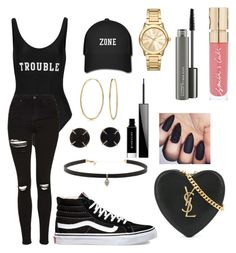 """Untitled #213"" by sdesir on Polyvore featuring ADRIANA DEGREAS, Topshop, Vans, Bling Jewelry, Melissa Joy Manning, Carbon & Hyde, Michael Kors, Givenchy, MAC Cosmetics and Smith & Cult"