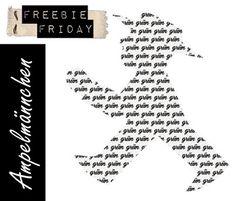 freebie friday - Ampelmännchen