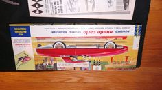 Vintage-1962-HAWK-Monte-Carlo-528-100-model-car-kit