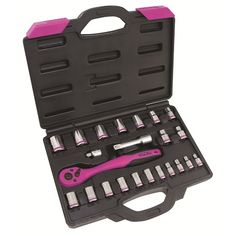 NEW! 22 Piece Socket Set with Composite Ratchet.  I love these tools.  Really good quality. And the guys at my work will not steal them. :-)