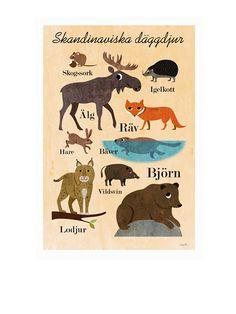 Skandinavische Tiere