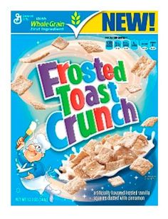 Frosted toast crunch cereal