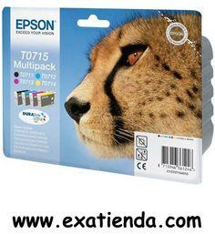 Ya disponible Cartucho Epson pack c13t071540 4 colores   (por sólo 51.95 € IVA incluído):   -Cartucho Multipack: Incluye: Negro, cian, magenta, amarillo C13T071140/240/340/440 -Para impresoras Epson: D78/92/120/DX40xxx/DX44xxxx/DX60xxx/74xxx   Garantía de fabricante  http://www.exabyteinformatica.com/tienda/389-cartucho-epson-pack-c13t071540-4-colores #epson #exabyteinformatica