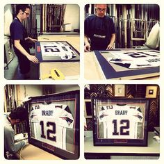 ever want to see what goes into framing a jersey now you can follow