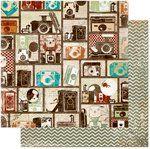 Bo Bunny - Mama-razzi 2 Collection - 12 x 12 Double Sided Paper - Balance