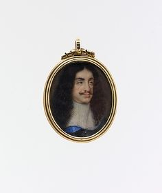 Charles II (1630–1685), King of England Style of Samuel Cooper -1672