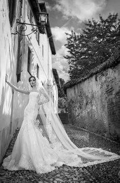 Abito da Sposa ARAB15629SL-SORAYA-A collezione Alessandra Rinaudo 2015, Alessandra Rinaudo