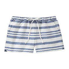 Stripe Pattern Short