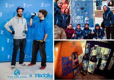Viva con Agua Quellwasser x Iriedaily Berlin auf der Berlinale 2013 Foto: Philipp Bensmann & Nico Herzog