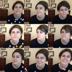 The moods of Tegan.