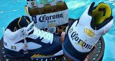 """Air Jordan 5 """"Corona"""" Custom by Nard Got Sole"""