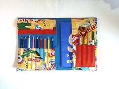 Trousse à dessin pour jeunes artistes thème USA : Ecole et loisirs par bleu-papaye