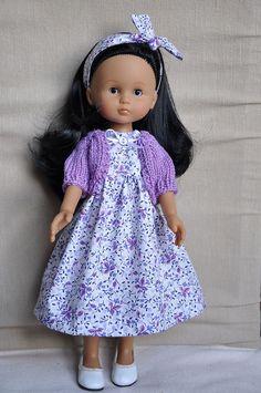 Robe pour poupée 33 cm compatible Chéries Corolle in Jeux, jouets, figurines…