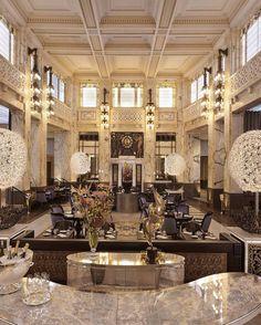 Park Hyatt Vienna - indulge in Tealeaves Afternoon Tea or a spa & herbal treatment.