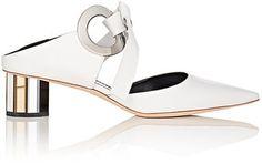 Shop Now - >  https://api.shopstyle.com/action/apiVisitRetailer?id=614941155&pid=uid6996-25233114-59 Proenza Schouler Women's Double-Grommet Leather Mules  ...