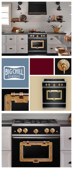 The Classic stove is a seamless addition to any industrial chic kitchen—at once rugged and robust, sleek and versatile. Click to discover more. #BigChill #Retro