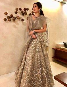 Actress Sagarika Ghatge married to Zaheer Khan her sari and jewellery Indian Lehenga, Indian Gowns, Indian Attire, Indian Ethnic Wear, Lehenga Choli, Sabyasachi, New Lehenga, Indian Bridal Outfits, Indian Designer Outfits
