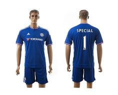 Chelsea #1 Special Blue Soccer Club Jersey