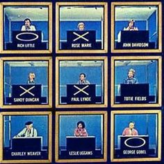 Hollywood Squares with Paul Lynde in the center square!