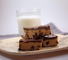 Chocolate-Peanut Butter No-Bake Bars | TramplingroseTramplingrose