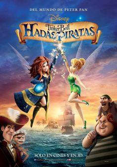 #TinkerBell Hadas Piratas, próximamente.