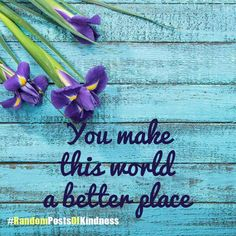 Have you intentionally blindsided someone with a #RandomPostofKindness this week yet? Use ours or personalize your own! http://enough.org/randompostsofkindness?utm_content=buffer2af77&utm_medium=social&utm_source=pinterest.com&utm_campaign=buffer