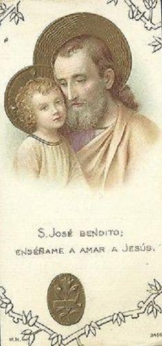 SAN JOSÉ BENDITO, ENSÉÑAME A AMAR A JESÚS.