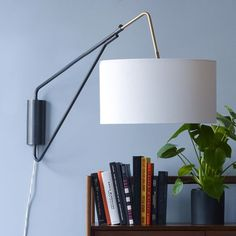 Mid-Century Overarching Wall Sconce from west elm