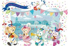 Happy Marching Fun | いっしょだと、いいことありそう。Duffy and Friends| 東京ディズニーリゾート