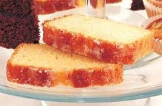 The Queen of Cakes, Mary Berry's Lemon Drizzle Cake. See link for recipe.