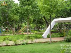 Park for children inside Regional Science centre, Tirupati