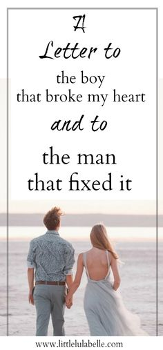 Have you had your heart broken? Me too! In this post I tell you all about how i healed my heartbreak and how one man changed it all! Click through to read my open letter to the boy who broke my heart and to the man who fixed it.   Heartbreak | Love | Open Letter