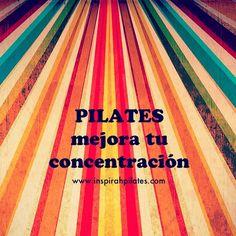 "@inspirahpilates's photo: ""#Pilates mejora tu concentración | www.inspirahpilates.com |"""