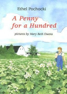 A Penny for a Hundred by Ethel Pochocki  Nine-year-old Clare lives on a potato farm in Aroostook County, Maine, and befriends Peter, a German POW who has been brought in to help with the potato crop one year during World War II when local men were overseas. For Christmas, Clare is determined to recreate at least one familiar tradition for Peter.
