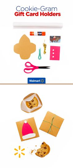Cookie-Gram Gift Card Holders | Walmart - Leave a sweet surprise for friends and family with these easy-to-make card holders. Find everything you need for this and more DIY ideas at Walmart.