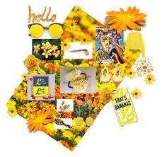 """Hello Sunshine!!"" by itsjuststuffff ❤ liked on Polyvore featuring art"
