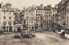 La place Dauphine et son square Paris Vintage, Old Paris, Paris France, Monuments, Rue Montorgueil, Cities, Ile Saint Louis, Tours France, Paris Photography