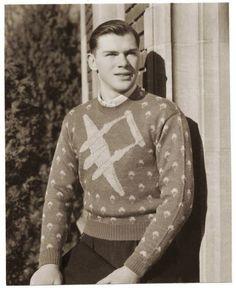 1940s men's sweater